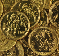 Assorted Gold Coins