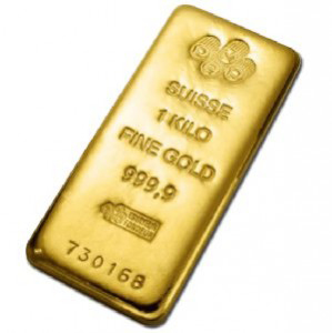 Gold Bar 1 Kilo Boston Bullion