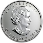 Palladium Maple Obverse